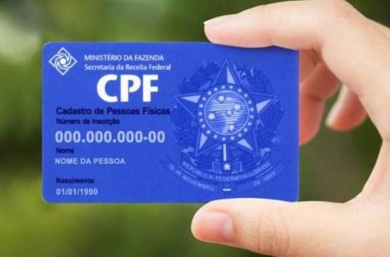 cpf - Cadastro unificado facilitará acesso dos cidadãos a serviços federais