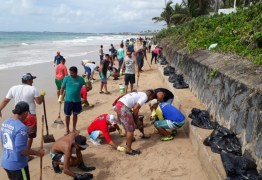 DANO AMBIENTAL: Pernambuco recolhe 30 toneladas de óleo de praias neste sábado