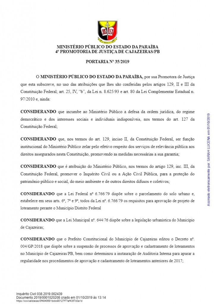 download 2 1 - HERANÇA REVISTA: Promotora abre três inquéritos para investigar construções irregulares em gestão passada de Cajazeiras