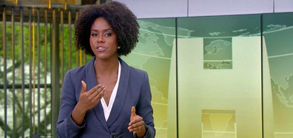 jornal hoje maju coutinho fixed large - Globo demite três funcionárias acusadas de tentar prejudicar Maju Coutinho
