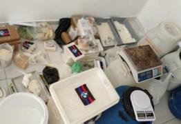 A QUÍMICA DO MAL: Polícia Militar desarticula laboratório de cocaína em casa de veraneio na Grande João Pessoa