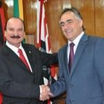 luciano e durval - De olho na reeleição: com possibilidade de filiação ao PL de Wellington Roberto, Durval Ferreira deve abrir mão da disputa pela PMJP em 2020