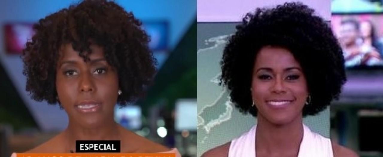 maju 13568906 - Novo visual de Maju Coutinho gera discussão nos bastidores da TV Globo