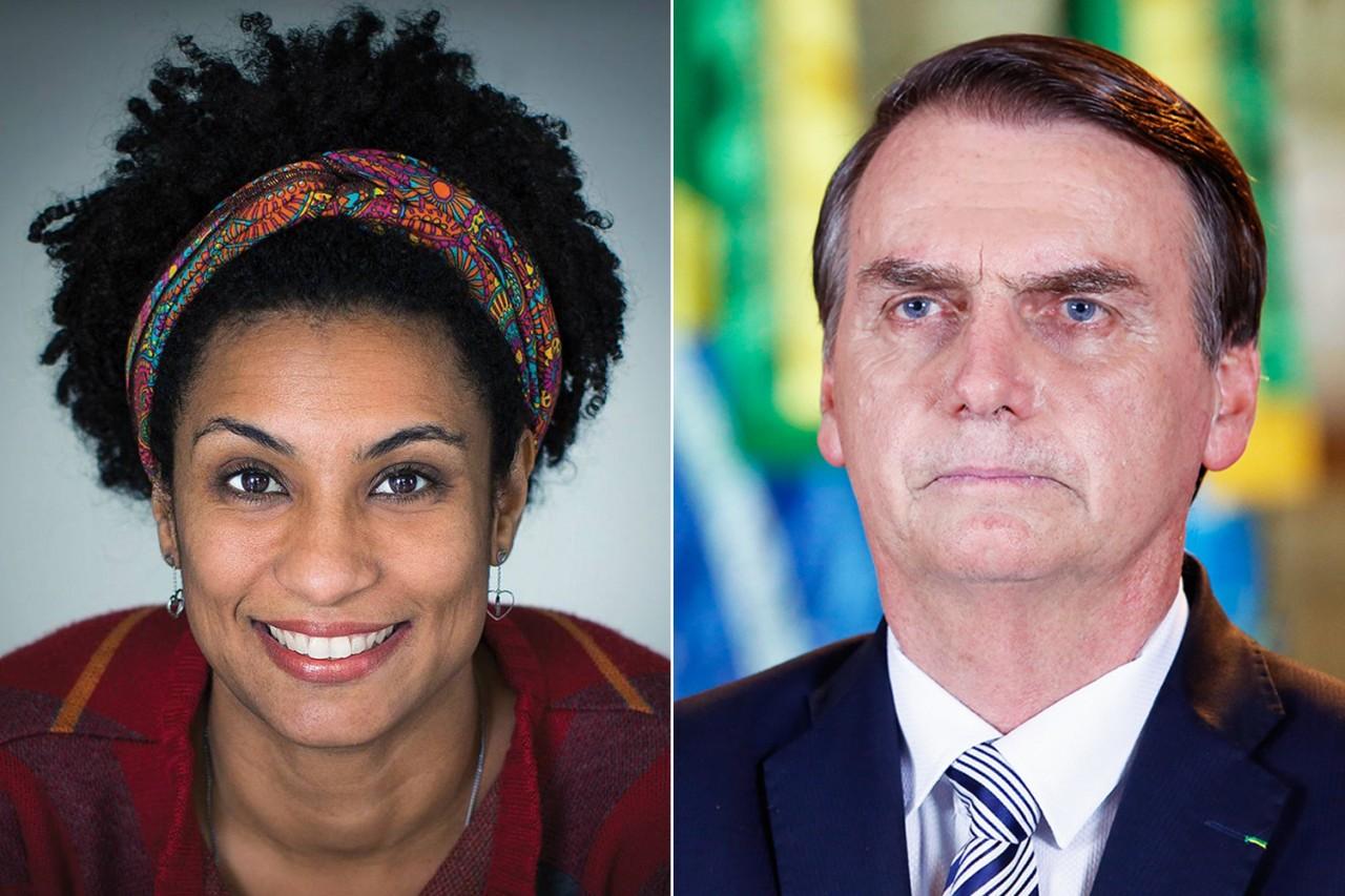 marielle e bolsonaro - Delegado descarta participação da família Bolsonaro na morte de Marielle