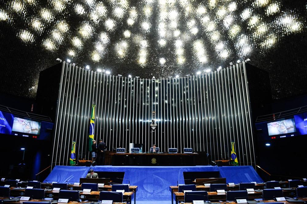plenario do senado marcos oliveira marcos oliveira agencia senado 2 - Senado Federal autoriza concurso com 40 vagas e salários de até R$ 32 mil