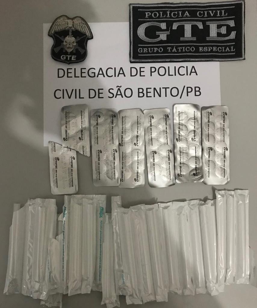 proprietaria de farmacia e presa por venda ilegal de medicamento abortivo em sao bento na pb - Dona de farmácia é presa sob suspeita de venda ilegal de medicamentos abortivos em São Bento