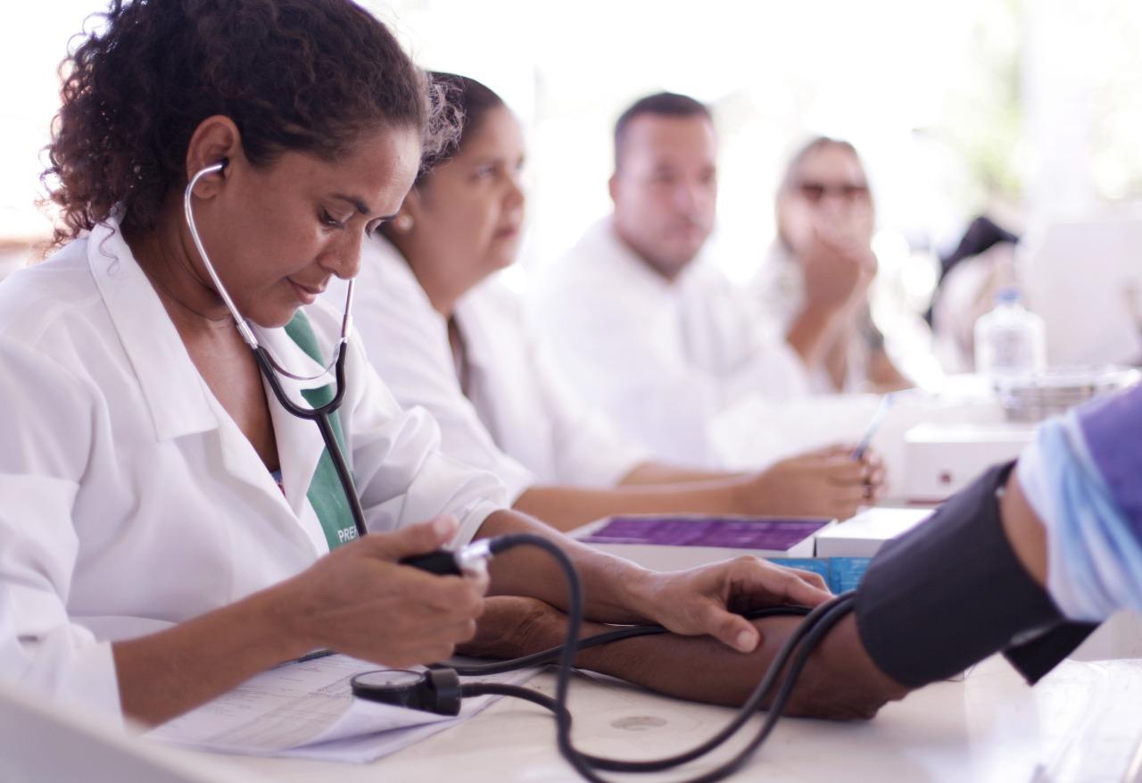 saúde - Pela primeira vez, profissionais de Santa Rita recebem incentivo financeiro do PMAQ