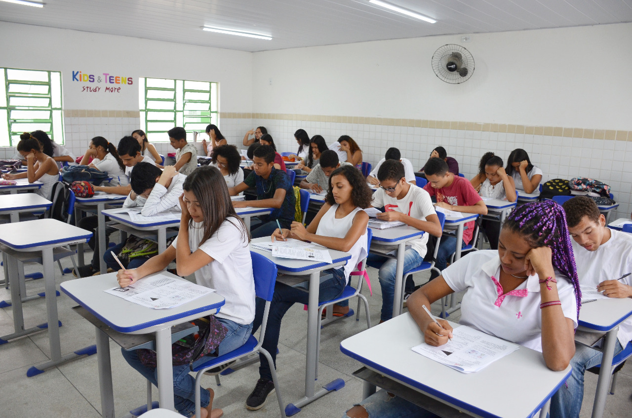 Simulado prepara alunos de Santa Rita para provas do Saeb 2019