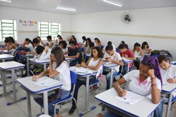 simulado1 - Simulado prepara alunos de Santa Rita para provas do Saeb 2019