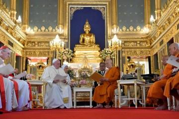 2019 11 21t035858z 866784043 rc2ffd9qdr9l rtrmadp 3 pope thailand - Na Tailândia, papa Francisco pede cooperação em questões de migração