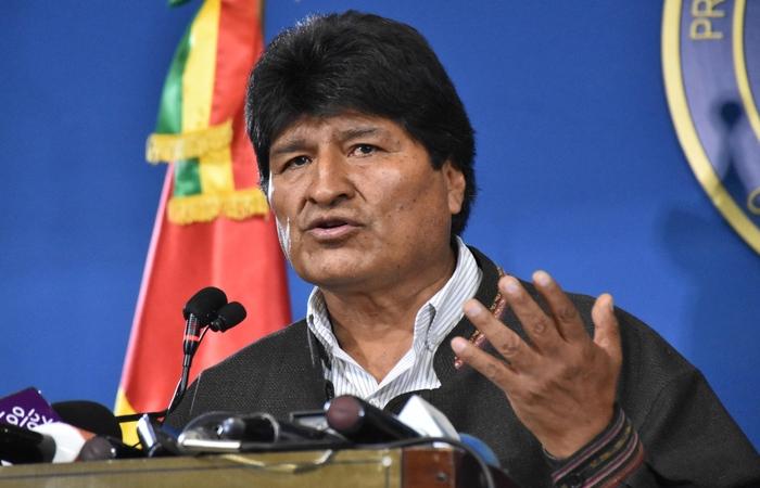 20191111185646444623o - Evo Morales aceita asilo oferecido pelo México