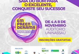 Semana Estadual do Empreendedorismo começa nesta segunda-feira em João Pessoa