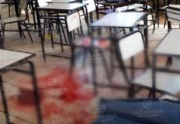 VIOLÊNCIA URBANA: Jovem é alvejado dentro de escola em João Pessoa