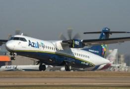 Azul anuncia 69 novos voos extras para João Pessoa e Campina Grande de dezembro a fevereiro