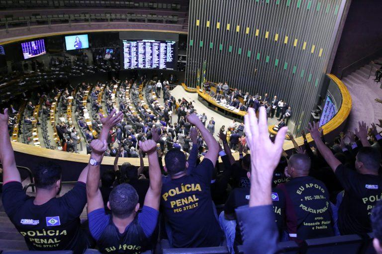 Agentes Penitenciários - Câmara aprova PEC de Cássio que cria polícias penais