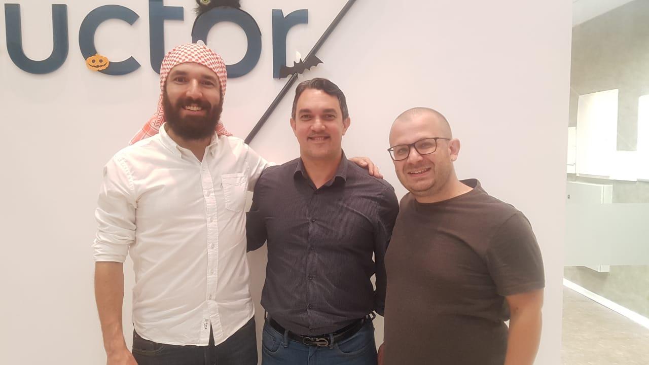 Anderson Criativo Daniel Targino e Leandro Palmieiri - Centro de inovação de São Paulo estuda expandir e instalar um núcleo em João Pessoa