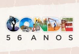 Prefeitura comemora 56 anos de Conde com shows e inaugurações