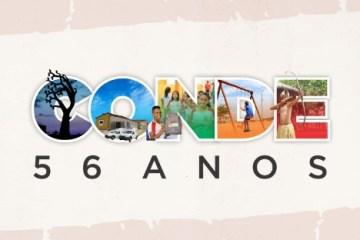 Aniversário de Conde - Prefeitura comemora 56 anos de Conde com shows e inaugurações