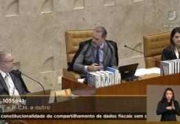 ACOMPANHE AO VIVO: STF julga uso de dados do Coaf sem aval da Justiça