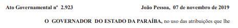 DOE CARNEIRO 1 - GOVERNADOR ACEITOU: Após entrega de cargos, esposa de Bosco Carneiro deixa cargo do Estado