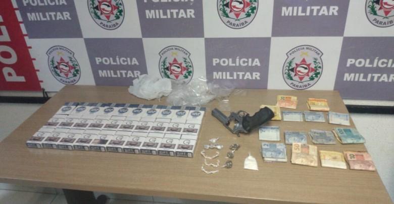Polícia detém oito suspeitos de tráfico de drogas em três cidades paraibanas