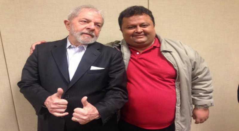 Lula e Jackson Macedo - LULA NA PARAÍBA: Partido dos Trabalhadores planeja visita do ex-presidente ao estado - VEJA VÍDEO