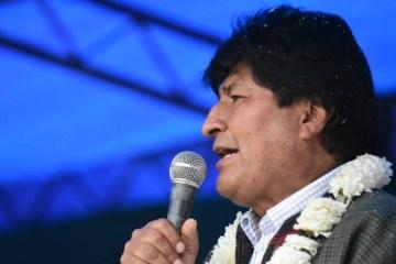 Morales acusa OEA de participar de golpe de Estado na Bolivia - Morales pede ajuda do papa e da ONU para mediar crise na Bolívia