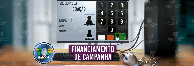 CONTAGEM REGRESSIVA: candidatos poderão usar auto-financiamento e 'vaquinha online' para bancar campanhas - Polêmica Paraíba