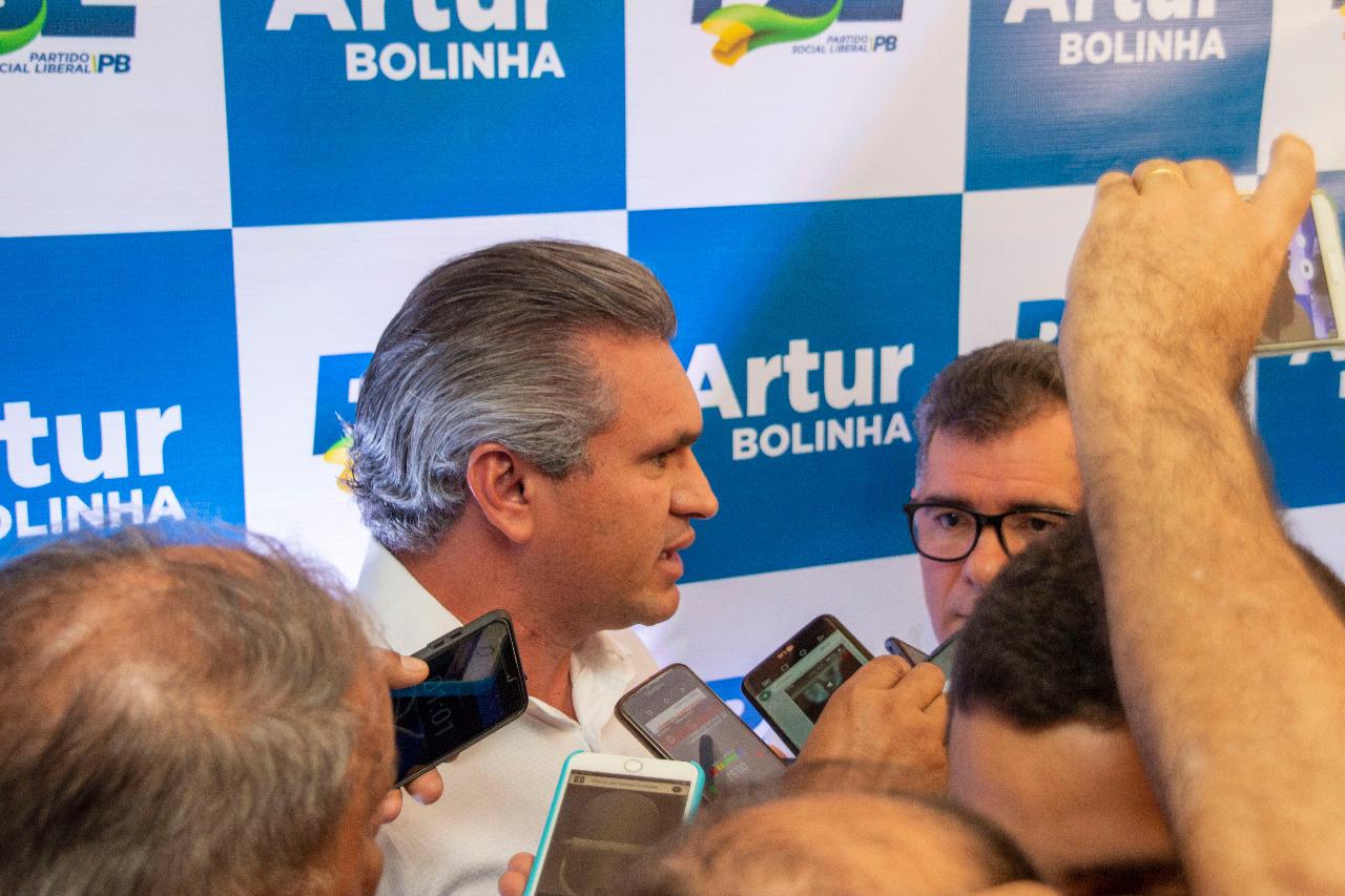 WhatsApp Image 2019 11 01 at 23.06.58 - Arthur Bolinha se filia ao PSL e Julian Lemos destaca 'papel determinante' do partido em Campina Grande