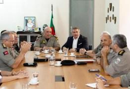 Em reunião, Julian Lemos traça melhorias para Segurança Pública da Paraíba; confira