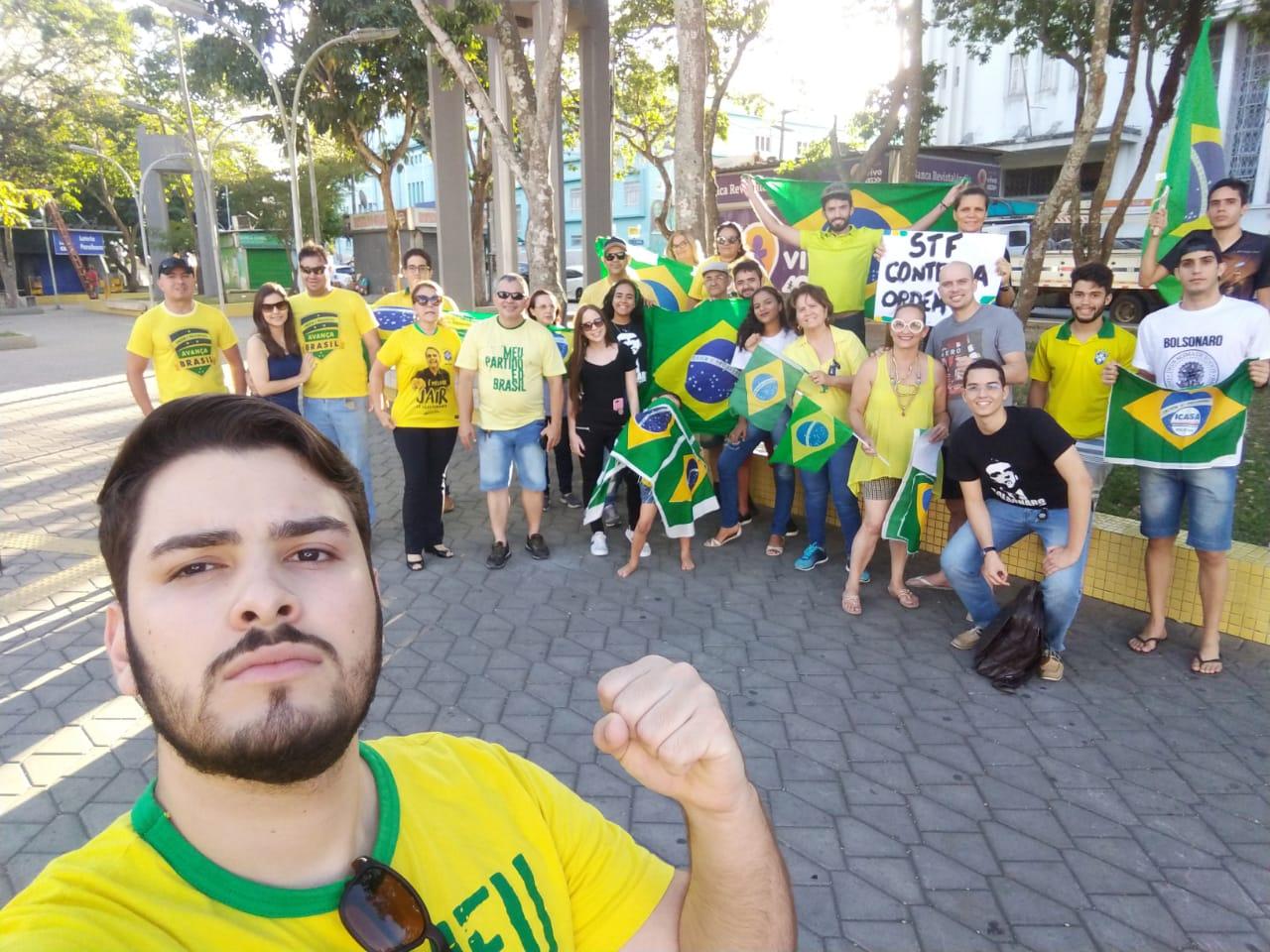 Ato conservador pede impeachment de Gilmar Mendes, em Campina Grande - Polêmica Paraíba