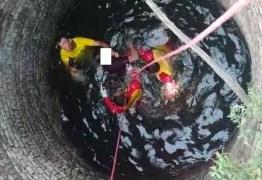 Corpo de homem desaparecido é encontrado dentro de poço, em Cajazeiras