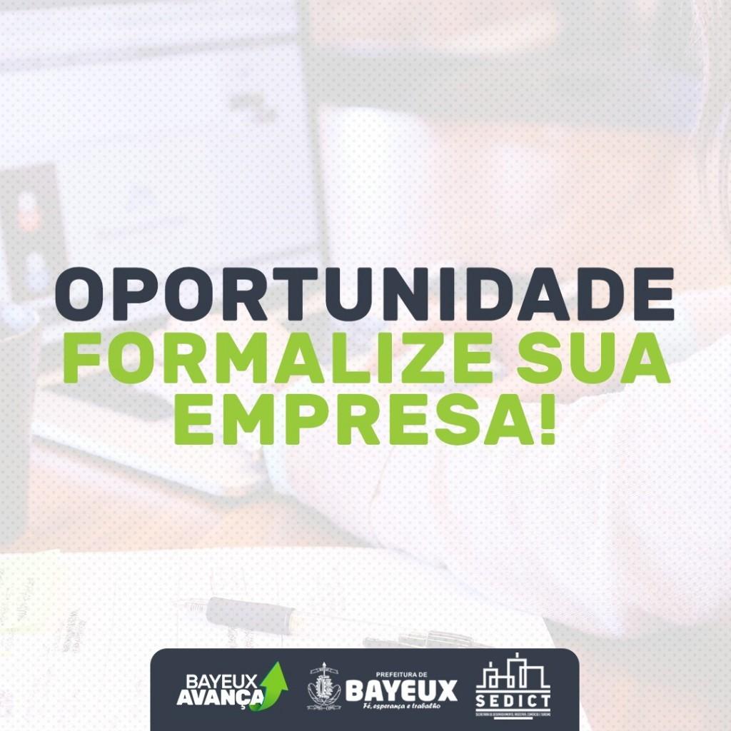formalize sua empresa - 'Sala do Empreendedor' da Prefeitura de Bayeux oferece facilidades para formalizar seu negócio
