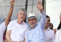 VÍDEO! Ricardo Coutinho aponta Lula como única liderança que país tem hoje: 'Daqueles que leva pancada e fica de pé'