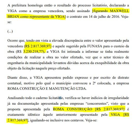 maxweel contrato - EMPRESÁRIO E REPÓRTER: Operação Recidiva pediu prisão temporária de dois envolvidos em esquema, mas justiça indeferiu - ENTENDA