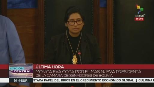 Partido de Evo Morales reassume presidência do Senado e da Câmara