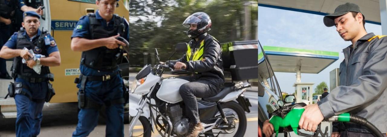 motoboy vigia frentista - MOTOBOYS, VIGILANTES e FRENTISTAS: Categorias terão diminuição de 25% nos salários após MP mudar valor de adicional de periculosidade