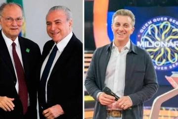 roberto freire temer huck - Luciano Huck cogita se filiar ao Cidadania, ex-PPS, presidido por Roberto Freire