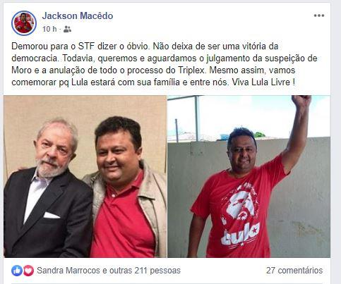 supremo 1 - 'Demorou para o STF dizer o óbvio', diz Jackson Macêdo sobre decisão do STF