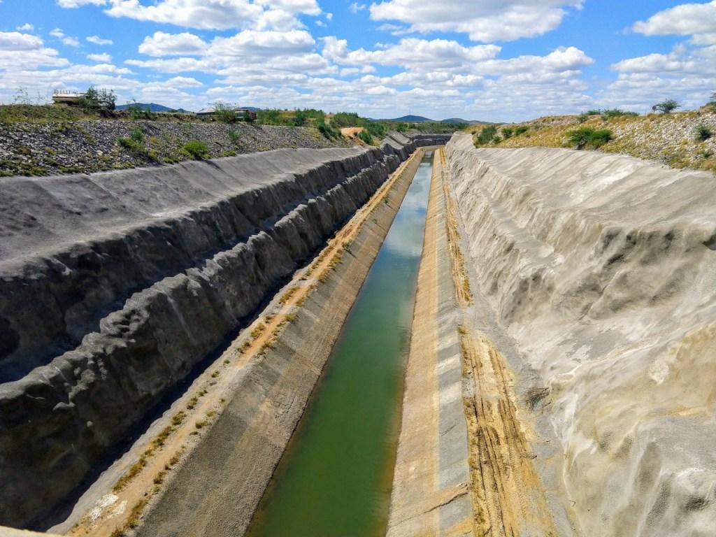 transposicao Dennison Vasconcelos canal monteiro 1024x768 - MPF e MPPB recomendam que MDR libere água para canal da Transposição do Rio São Francisco
