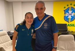 NOVA PROMESSA PARA O BRASIL: Jogadora paraibana, Joyce Andrade, é destaque na seleção feminina de futebol