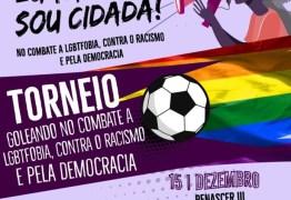 Torneio de futebol feminino promove combate a LGTFobia e racismo