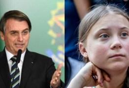 """""""PIRRALHA"""": Bolsonaro ofende Greta ao comentar post da ativista sobre morte de índios – VEJA VÍDEO"""