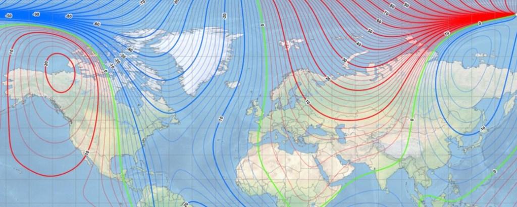 18200731468154 1024x410 - Polo magnético da Terra está se movendo em direção à Rússia