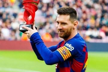Messi diz que não vê a hora de jogar: 'Quero voltar a competir'