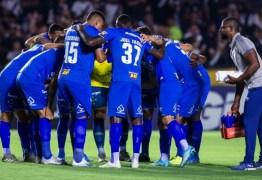 Cruzeiro chega a 86% de chances de queda no Brasileirão; rebaixamento pode acontecer na quinta