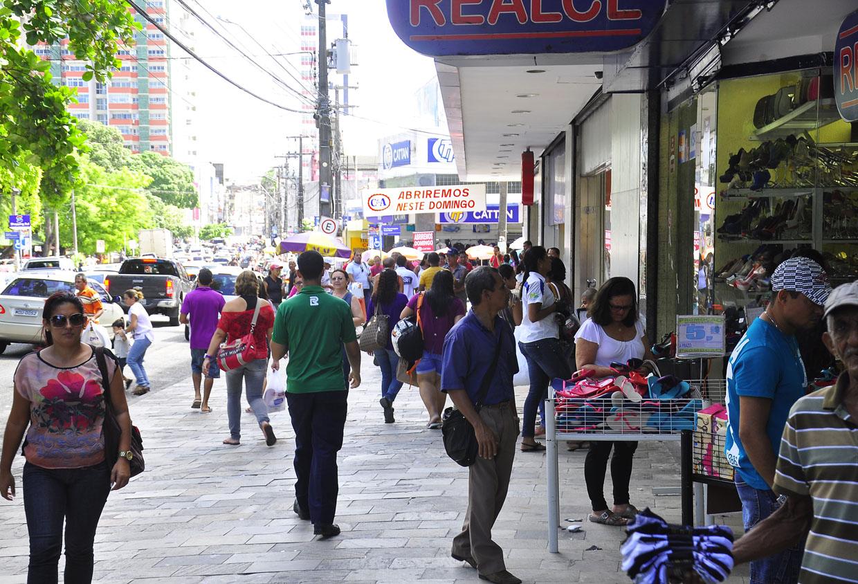 COMÉRCIO FcomuniOTO DIVULGAÇÃO SECOM - Vendas do comércio da Paraíba registram 2ª maior alta do País, revela IBGE