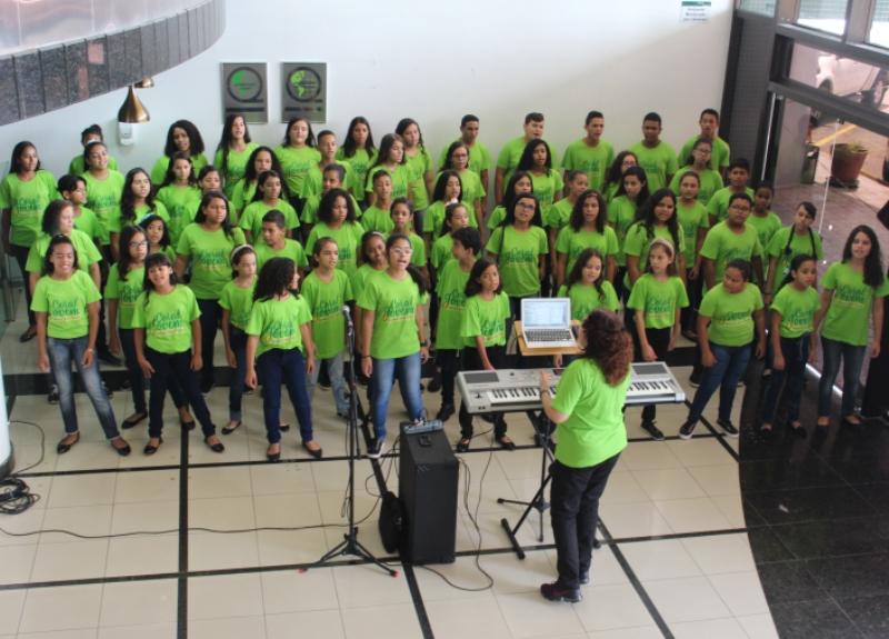 Coral Jovem Unimed João Pessoa: a música que transforma vidas