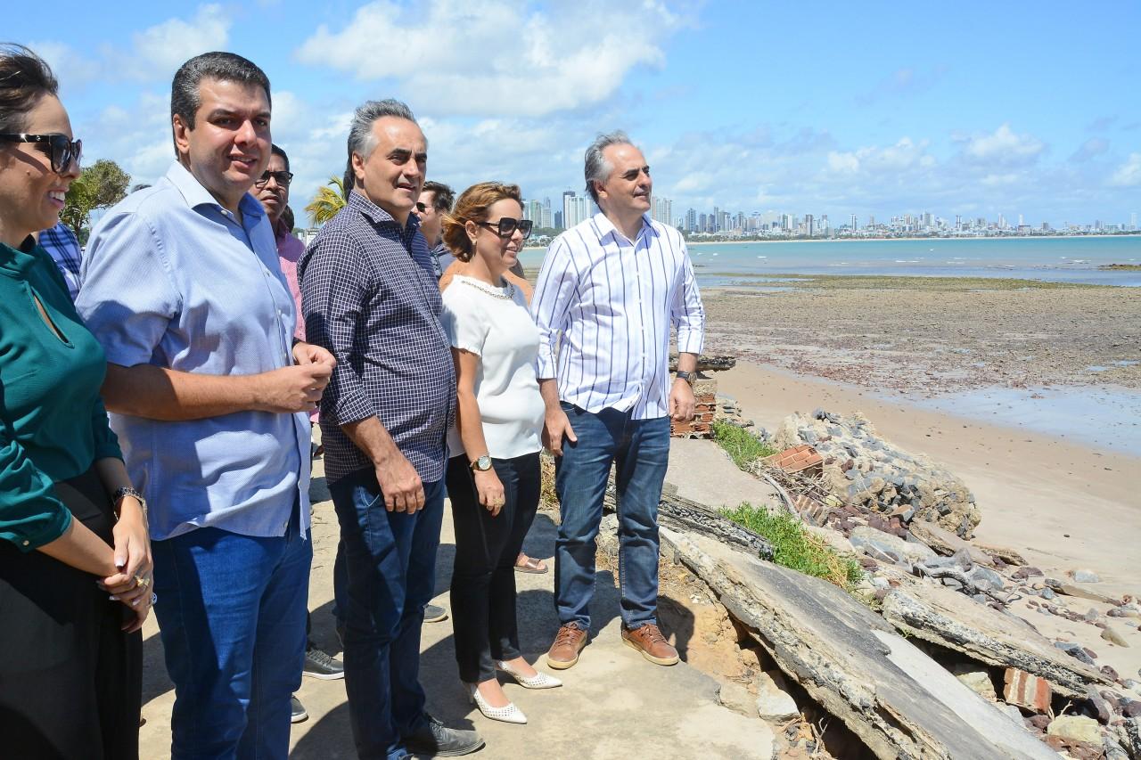 DSC 5688 - Luciano Cartaxo autoriza nova etapa das obras de proteção da Barreira do Cabo Branco - VEJA VÍDEO