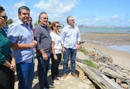 Luciano Cartaxo autoriza nova etapa das obras de proteção da Barreira do Cabo Branco – VEJA VÍDEO